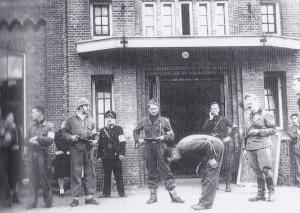 'Beul van Ommen' in gevangenschap (mei 1945)