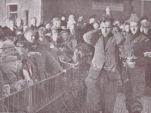 'Beul van Ommen' M. Scheffer in gevangenschap (mei 1945)