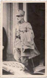 George Jambroes in Londen, 1942 (collectie Erik George Jambroes)
